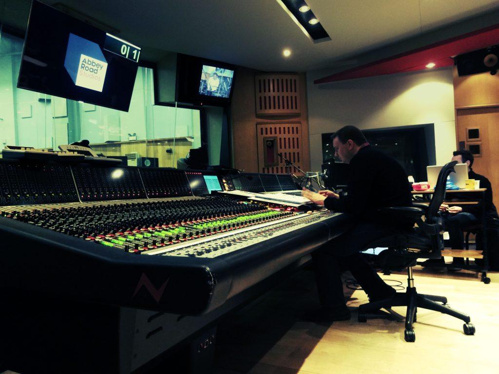 Andy Dudman at desk