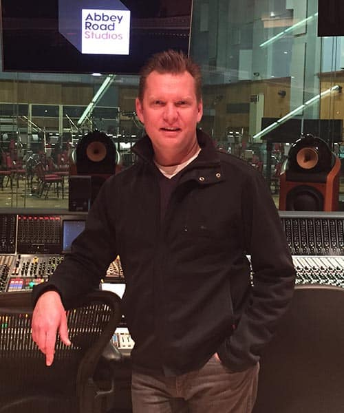 Jeff Meegan, composer, percussionist, keyboard player and vocalist.
