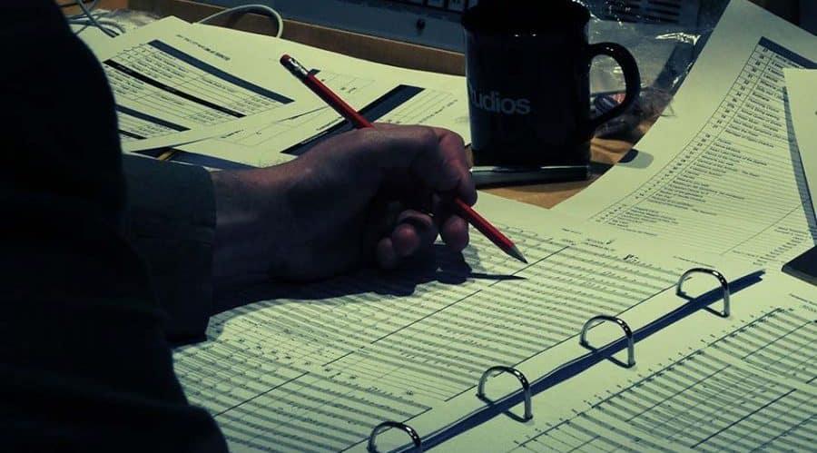 Pencil on Manuscripts